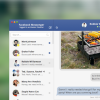 Facebook Messenger UI .Sketch Freebie