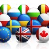 Round world flags – Free PSD