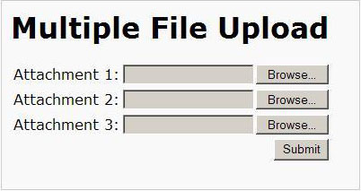 Tạo Multiple Files Upload bằng PHP
