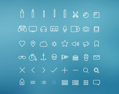 Free Hangloose Icon Set