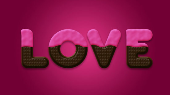chocolate-text-effect-in-photoshop-for-valentines-day-01