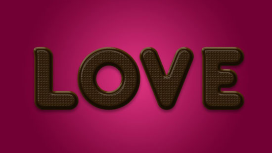 chocolate-text-effect-in-photoshop-for-valentines-day-12