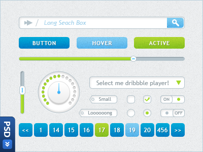 light-blue-green-ui-kit