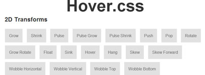 hover-css3-collection