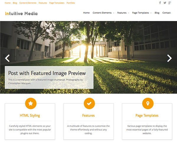 Intuition-new-free-Wordpress-Themes