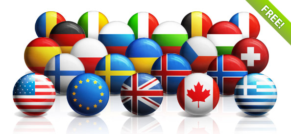 round-world-flags-free-psd