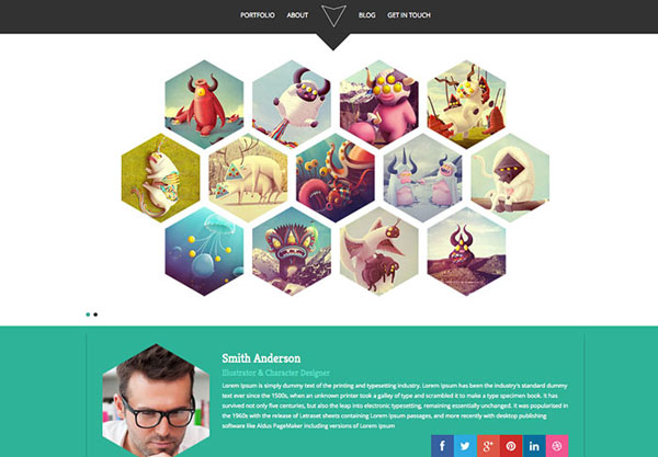 hexa-free-bootstrap-template