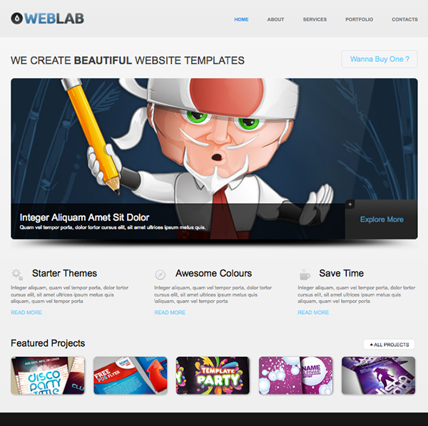 weblab-html5-free-website-template