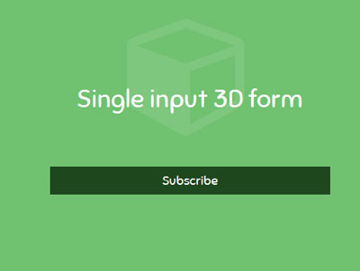 single-input-3d-form