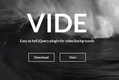 jQuery-Background-Video