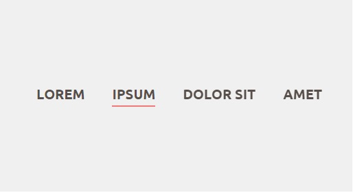 Underline Hover Effect với CSS3