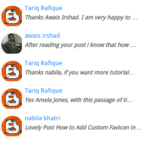 Display latest comments for each post