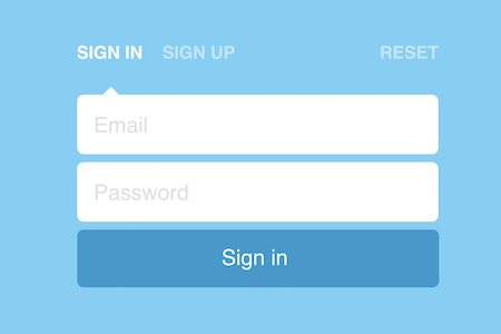 Sign In/Up Form Transitions cực cool với CSS3